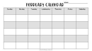 Primary Calendar