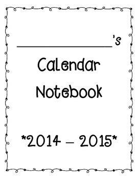 Primary Calendar Packet