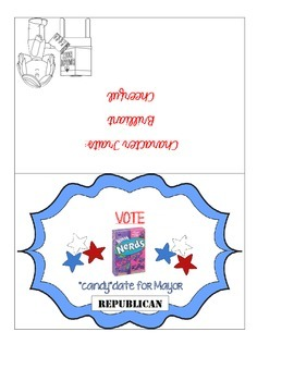 "Primary ""Candy""date Election Cards"