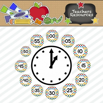 Primary Checks Clock Numbers
