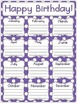 Primary Polka Dot Birthday Posters