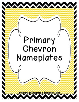 Primary Chevron Nameplates