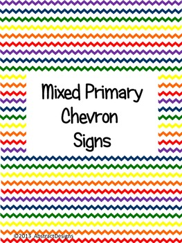 Primary Chevron Signs