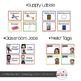 Primary Chevron Theme Classroom Decor {Editable}