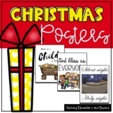 Primary Christmas Posters and Coloring Pages for the Holiday Season