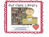 Primary Classroom Book Basket Labels