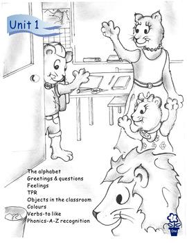 Primary Classroom EFL/ESL Textbook Level One/ Unit 1