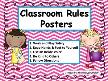 Primary Classroom Rules