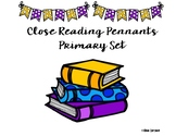Primary Close Reading Strategy Pennants