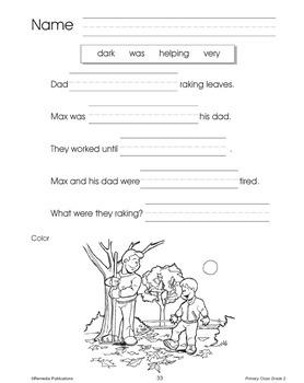 Primary Cloze Reading {Bundle}