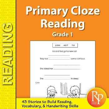 Primary Cloze Reading (Grade 1)