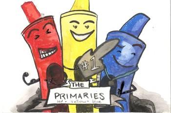 Primary Colo(u)r Crayon Poster