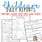 Primary Color Childcare Daily Reports  (Daycare)