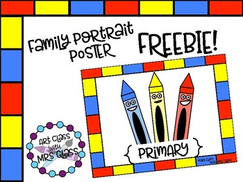 Primary Color Family Poster