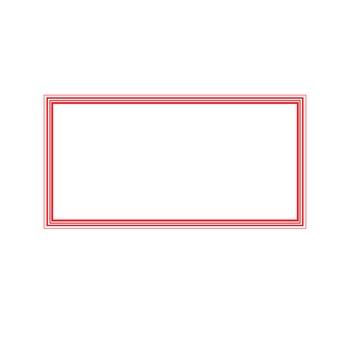Primary Color Line Border