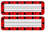 Primary Color Polka Dot Nametags
