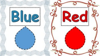 Primary Color Posters