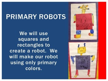 Primary Color Robot: Mondrian Unit, Powerpoint