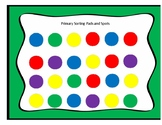 Primary Color Sorting Pads and Spots