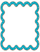 Primary Color Squiggle Borders Clipart PU and CU OK