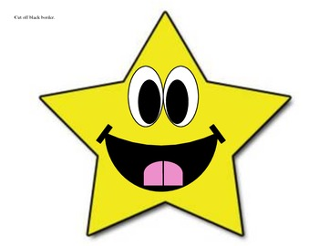 Primary Color Stars - Large