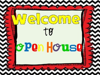 Primary Color Theme Open House/Meet the Teacher Slide Show