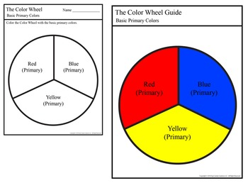 Primary Color Wheel Set