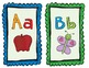 Primary Colored Alphabet Posters