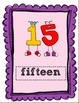 Primary Colored Alphabet and Number Posters