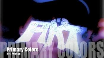 Visual Art:  Primary Colors Art Teacher Rap