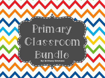Primary Colors Bundle Classroom Decor