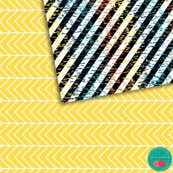 Abstract Summer Digital Paper