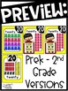 Primary Colors Number Posters - Primary Decor