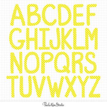 Alphabet - Primary Colors