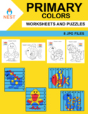 Primary Colors Worksheets and Puzzles