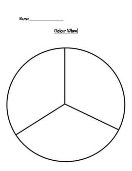 Primary Colours - Colour Wheel