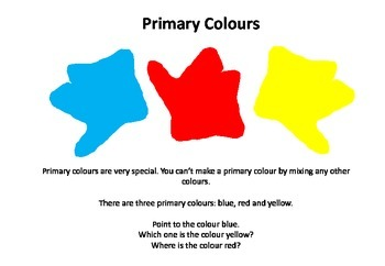 Primary Colours for Preschool