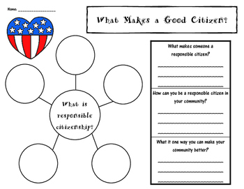 Primary Community & Good Citizenship Bundle - Social Studies
