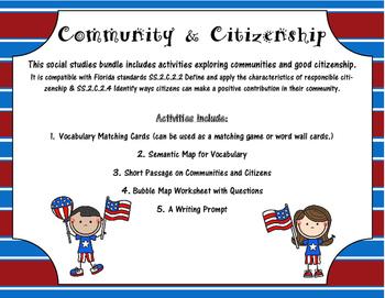 Primary Community & Good Citizenship Bundle - Social Studies | TpT