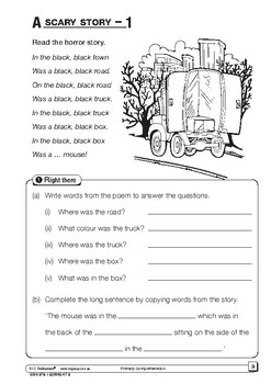 Primary Comprehension – Ages 5-6