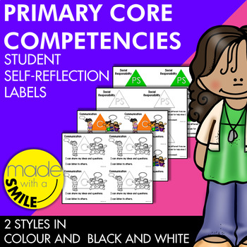 Primary Core Competencies Student Self-Reflection Labels