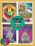 Primary Counselor Lesson Bundle, Unit 2 for each grade (Pr