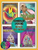 Primary Counselor Lesson Bundle, Unit 2 for each grade (Pre K - 2nd Grades)