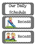 Primary Daily Schedule