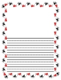 Primary Decorated Lined Paper