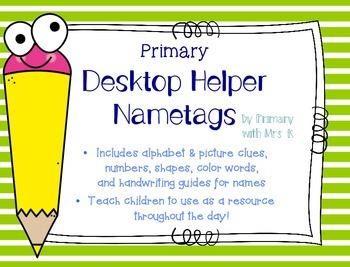 Primary Desktop Helper Nametags
