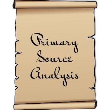 Primary Document Analysis