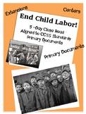 Child Labor Lesson Primary Documents Close Read