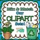 Green Primary Dots Alphabet Clip Art {Great for Classroom Decor & Resources}