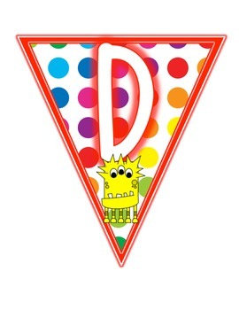 Primary Dots Monster Daily 5 Set